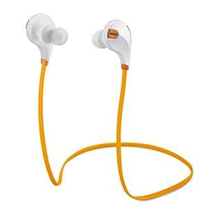 Mpow Swift Bluetooth 4.0  Wireless Sport Headphones with Microphone for Smartphones, Orange