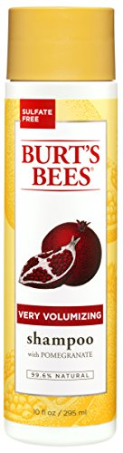 Burt's Bees Very Volumizing Shampoo, Pomegranate Scent, 10 Ounces (Very Conditioner Volumizing)