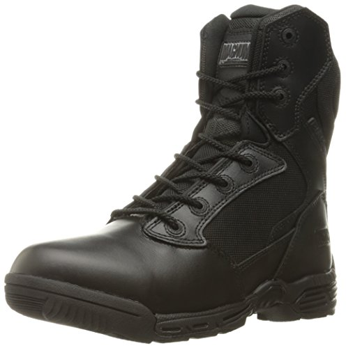 Magnum Women's Stealth Force 8.0 Side Zip Military and Tactical Boot, Black, 9.5 M US by Magnum
