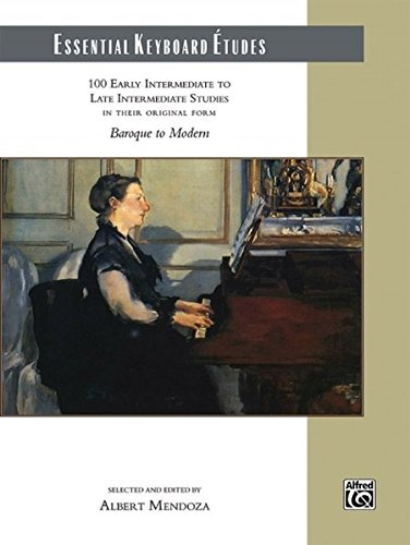 Essential Keyboard Études: 100 Early Intermediate to Late Intermediate Studies, Comb Bound Book ()