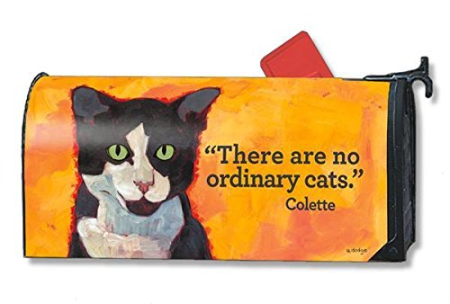 Magnet Works No Ordinary Cats Magnetic Mailbox Wrap Cover Cat Mailbox Covers