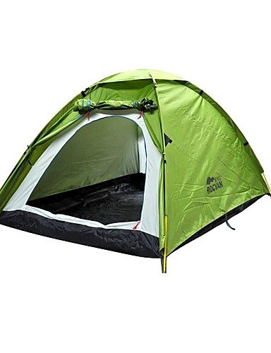 G&T ROCVAN 3 Season A067 2 Person Double Layer Fiberglass Pole Camping Tent
