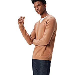 Amazon Brand – find. Men's Cotton V-Neck Sweater