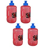 zak sport bottle - 4-Pack Spider-Man Homecoming Kids 16oz Pull-Top Squirt Sports Water Jug Bottles
