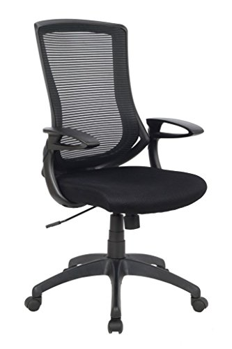 Viva Office High Back Mesh Chair – Black by VIVA OFFICE