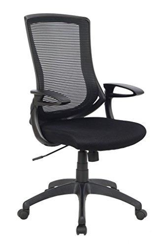 Viva Office High Back Mesh Chair – Black by VIVA OFFICE
