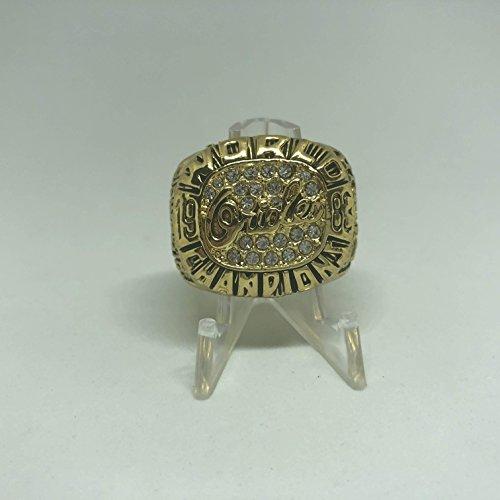 Cal Ripken Jr World Series - Cal Ripken Jr. Baltimore Orioles High Quality Replica 1983 World Series Championship Ring Size 11-Gold Colored US SHIPPING