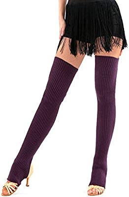 JJunLiM - Calentadores de piernas para Mujer (75 cm, para ...