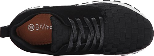 Bernie Mev Womens Carly Noir