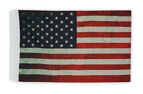 Hot Rides Motorcycle Flag USA Vintage 10 x 15 Inch Hot Usa Flag