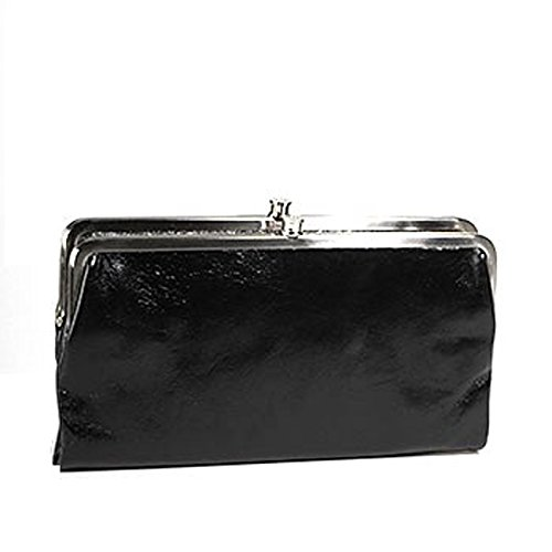 HOBO Vintage Lauren Wallet ,Black, One Size by HOBO