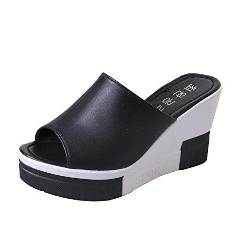 Ladies Flip Flops,Clearance! AgrinTol Womens Summer Sandals Shoes Peep-Toe Roman Sandals