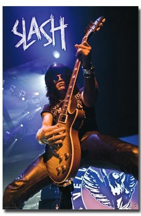 Slash Poster Live on Stage Rare Hot New