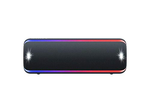 Sony SRS-XB32 Extra Bass Portable Bluetooth Speaker, Black (SRS-XB32/B) (Best Bluetooth Speaker Bass 2019)