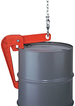 Mytee Products Chain Drum Lifter 2000 lbs WLL Lift Barrel Lifter Vertical Hoist Self Locking