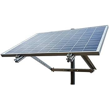 Amazon com: Adjustable Solar Panel Mount Mounting Rack