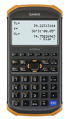Casio civil engineering surveying specialized calculator fx-FD10 Pro