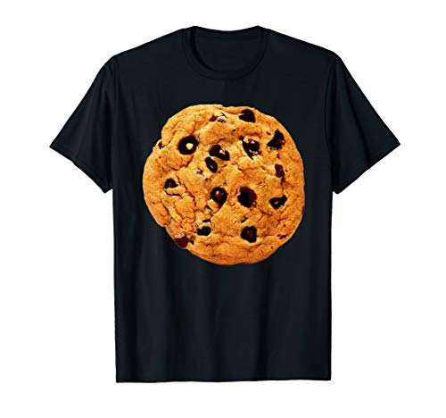 Chocolate Chip Cookie Costume Shirt Last Minute Lazy Party
