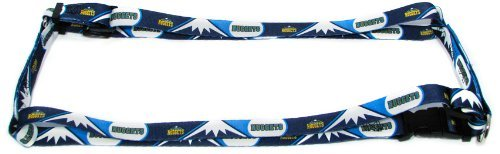 Hunter MFG 1-Inch Denver Nuggets Adjustable Harness, Large