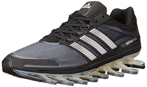 adidas Men's Springblade Running Shoe, Core Black/Metallic S