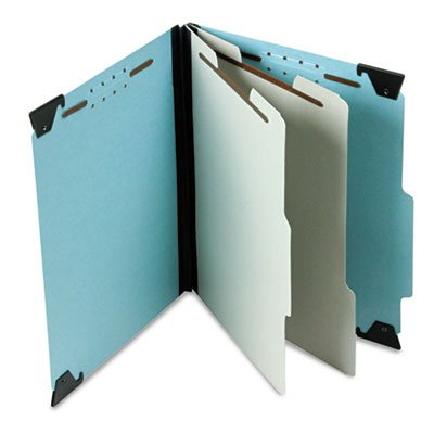 Esselte Ess-59252 Recycled Hanging Classification Folder - Letter - 8.5 X 11 - 2 Divider - 2 Expansion - 1 Each - 25pt. - Blue - Esselte Recycled Hanging Classification Folder