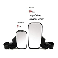 UTV Rear View Side Mirror Break Away Mirrors for H