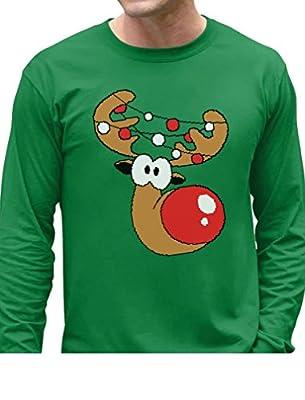 Reindeer Funny Christmas Long Sleeve T-Shirt