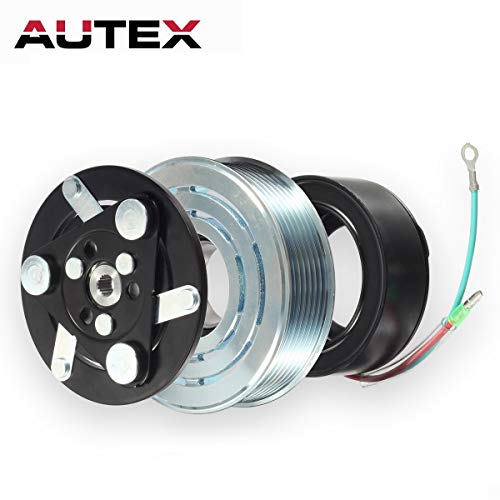 AUTEX AC A/C Compressor Clutch Coil Assembly Kit 38800RZYA010M2 80221SNAA01 8851502200 Replacement for HONDA CR-V 2007 2008 2009 2010 2011 2012 2013 2014 ()