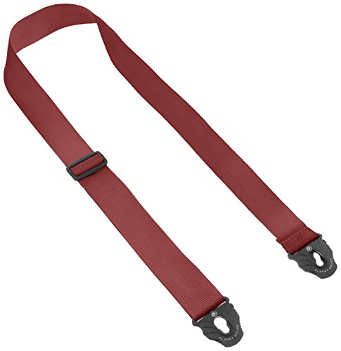 Planet Waves Planet Lock Guitar Strap, Polypropylene, Red