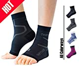 Thirty48 Plantar Fasciitis Socks, 20-30 mmHg Foot Compression Sleeves for Ankle/Heel Support, Increasing Blood Circulation, Relieving Arch Pain, Reducing Foot Swelling