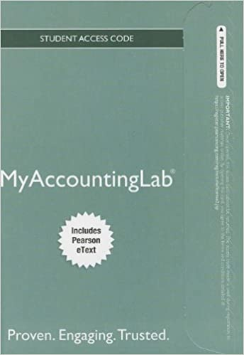 New mylab accounting with pearson etext standalone access card new mylab accounting with pearson etext standalone access card for horngrens financial managerial accounting myaccountinglab access codes 4th fandeluxe Image collections