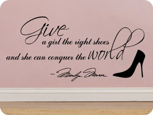 marilyn monroe quotes wall decals