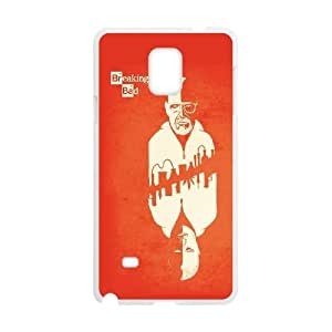 Breaking Bad Card Vector Samsung Galaxy Note 4 Cell Phone Case White DIY Gift xxy002_5073782