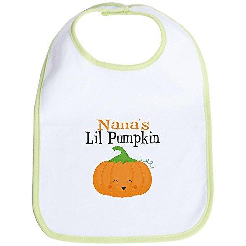 CafePress Nanas Little Pumpkin Bib Cute Cloth Baby Bib, Toddler ()