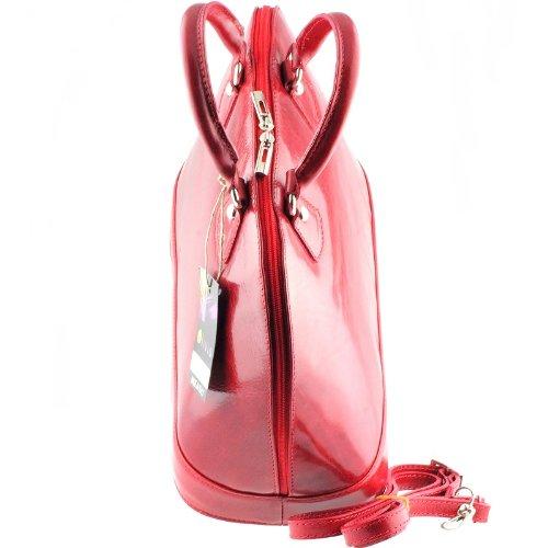 OLIVIA VENISE para mujer top-bolso de mano para - ROUGE/BORDEAUX 1062