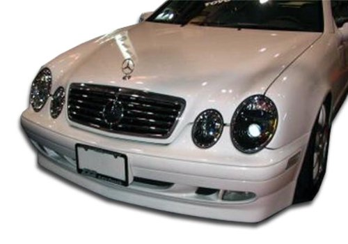 Duraflex Replacement for 1998-2002 Mercedes CLK W208 BR-S Front Lip Under Spoiler Air Dam (base model) - 1 Piece