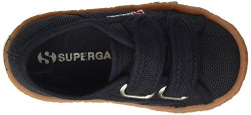 Superga 2750-naked COVJ - Zapatilla Baja Unisex Niños Blu (Navy)