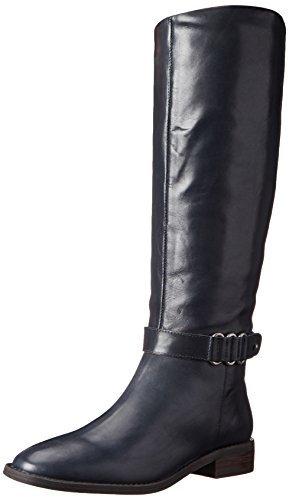 Nine West Women's Heavinli Leather, Navy, 5 M US