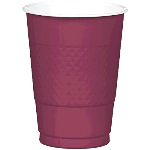 Amscan 43037.27 Party Supplies, Berry
