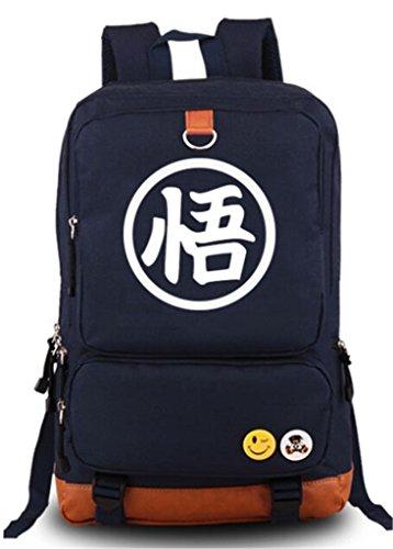 Dragon Ball Z Wigs (YOYOSHome Dragon Ball Z Anime Goku Cosplay Luminous Bookbag Backpack School Bag)