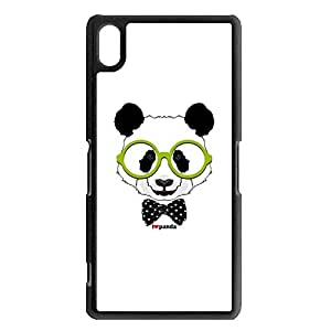 Well-selling Nice Panda Phone Case Cover For sony xperia Z2 Panda Design