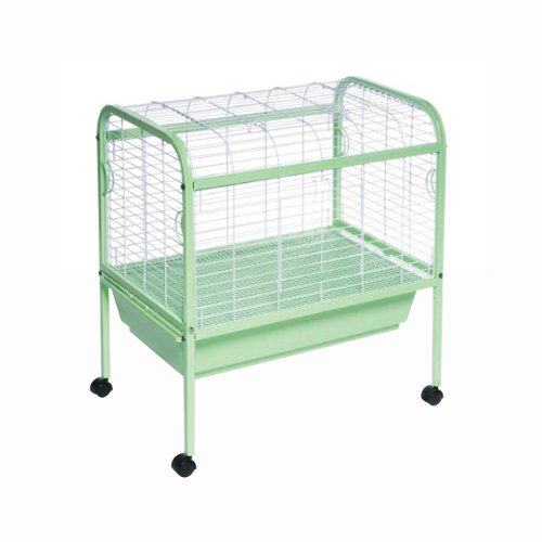 Prevue Hendryx 320 Small Animal Pet Cage / Carrier on Stand With Plastic Pan (Prevue Hendryx Small Animal Playpen)