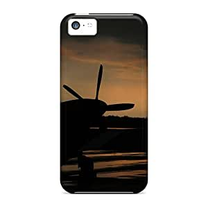 New Diy Design Warbird Sunset For Iphone 5c Cases Comfortable For Lovers And Friends For Christmas Gifts