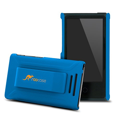 ipod-nano-7-case-roocase-ultra-slim-fit-blue-shell-case-cover-for-apple-ipod-nano-7-7th-generation