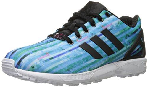 Adidas Originals Mænds Zx Flux Mode Sneaker Hvid / Hvid / Neon Lyserød bYXvb6z5