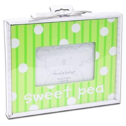 Amazon.com - Koala Baby \'Sweet Pea\' 4x6 Ceramic Photo Frame - Photo ...