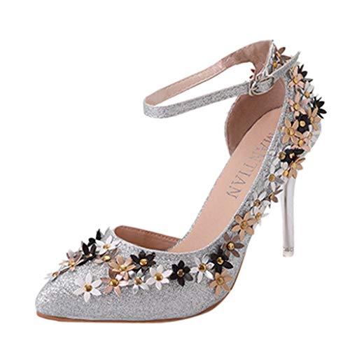 Sliver Glissants Strass Sexy Et Leopard Été Talons Chaussures Hauts Fantaisiez A Sport Pantoufles Femme Bottes Transparentes Sandales Femmes Printemps Non npHYF6qxw