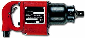 Chicago Pneumatic CP0611-PASED 1-Inch Industrial Impact Wrench with D Handle and Inside Trigger
