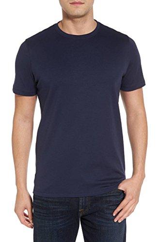 Robert Barakett Men's Georgia Short Sleeve Crew Neck T-Shirt - Blue Night - M