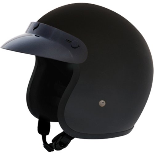 low profile 3 4 motorcycle helmet - 1